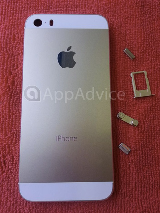 iPhone 5S Gold / Champagne : une seconde image