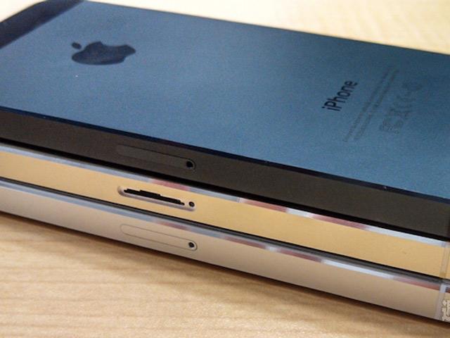 iPhone 5S champagne : une quatrième image