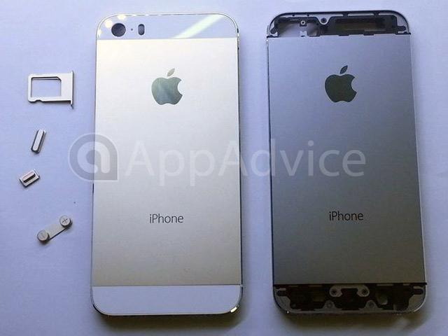 iPhone 5S Gold / Champagne : une quatrième image