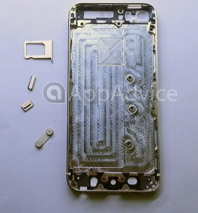 iPhone 5S Gold / Champagne : une sixième image