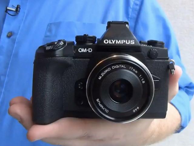Olympus OM-D E-M1 : une première image
