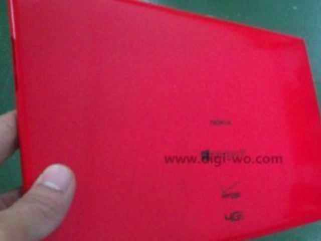 Photo tablette Nokia : une première image