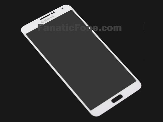 Façade Samsung Galaxy Note 3 : une première image