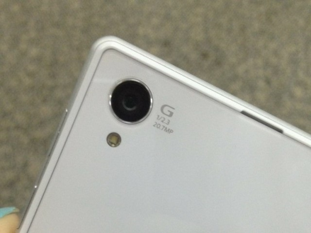 Sony Xperia i1 Honami blanc : une première image