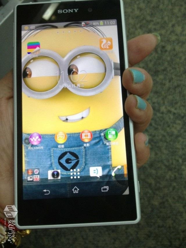 Sony Xperia i1 Honami blanc : une troisième image