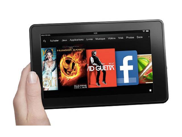 Spécifications nouvelles Kindle Fire HD