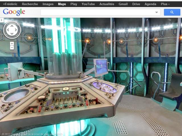 Tardis Google Maps : une première image