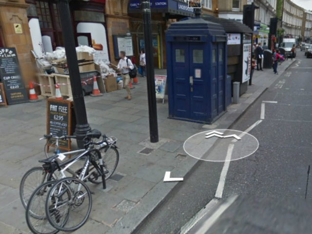 Tardis Google Maps : une seconde image