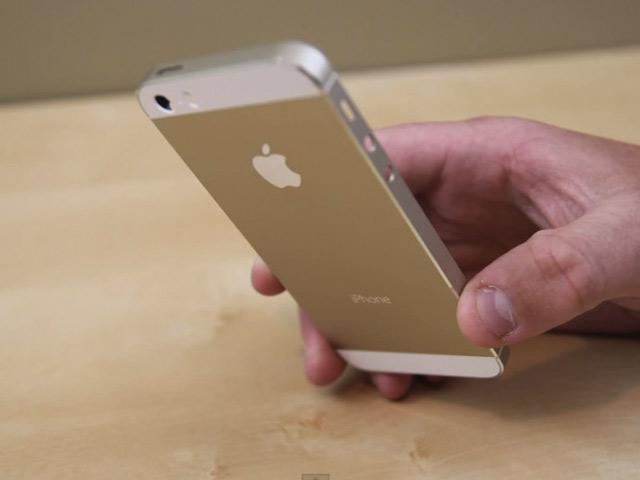 Vidéo iPhone 5S Gold