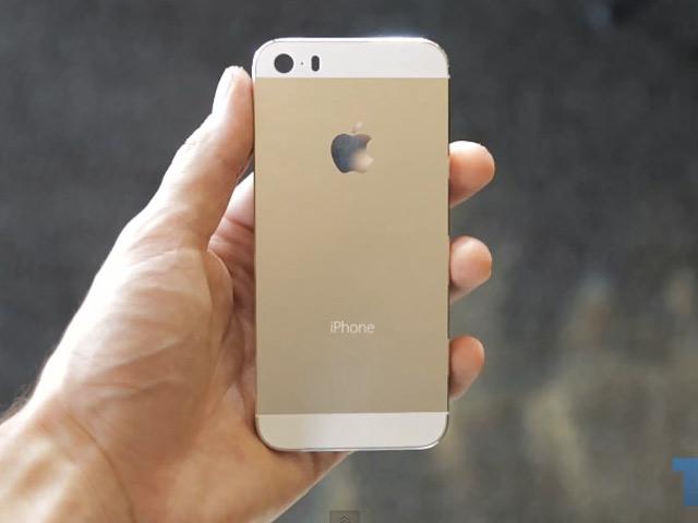 Vidéos iPhone 5S Champagne