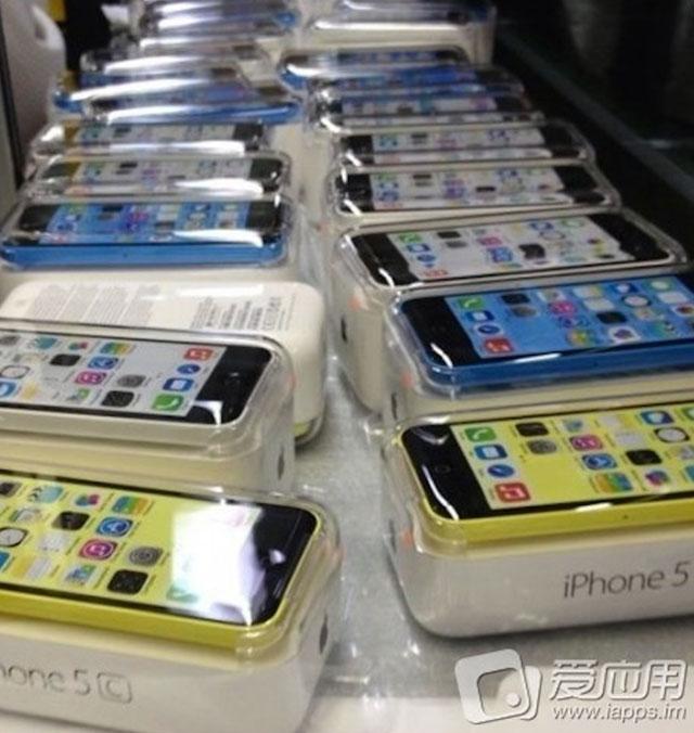 Boite iPhone 5C : une seconde image