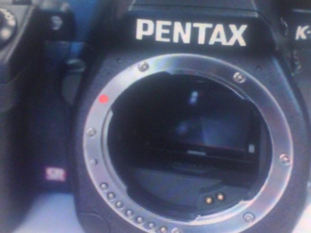 Boitier Full FRame Pentax