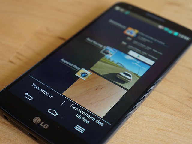 LG G2 : le multitâche