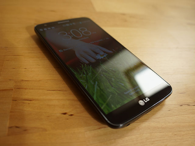 LG G2 : comme un air de Nexus 4