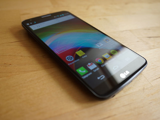 LG G2 : l'écran d'accueil principal
