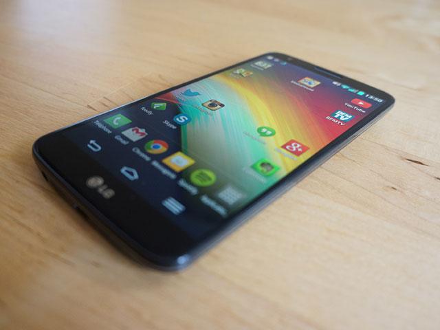 LG G2 : des bordures extrêmement fines
