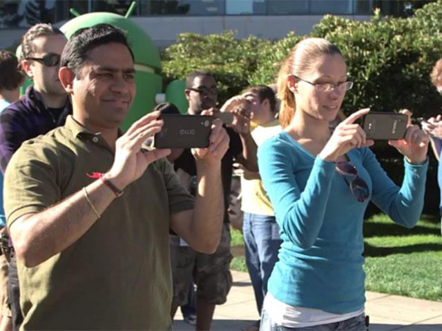 Nexus 5 : une apparition dans la vidéo de KitKat