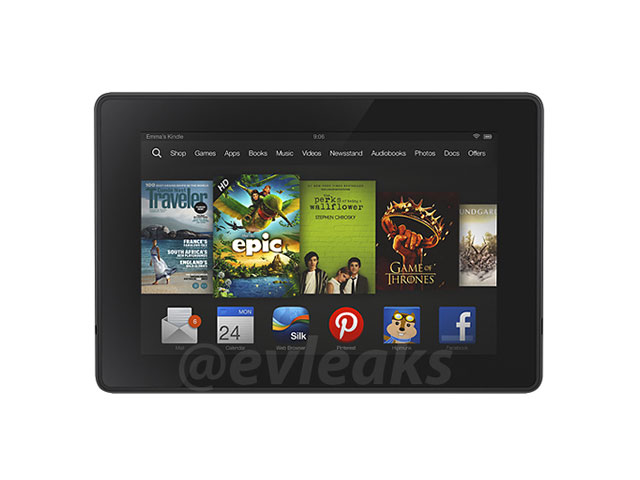 Nouveau Kindle Fire