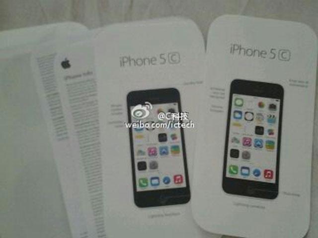 iPhone 5C : une première photo pour le manuel