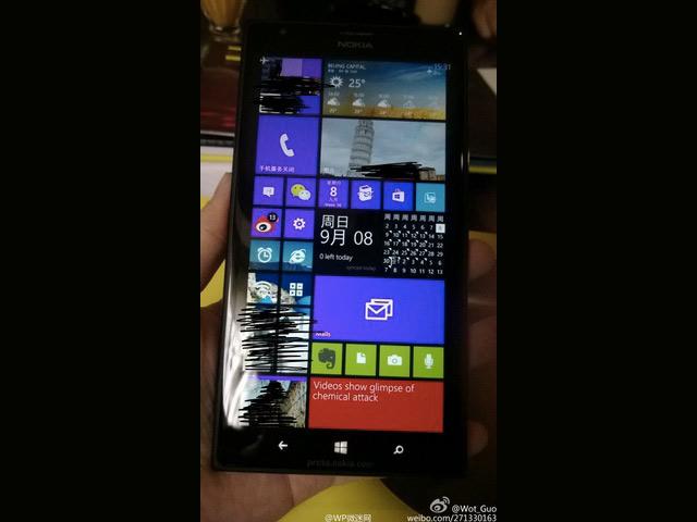 Nokia Lumia 1520 nv photo