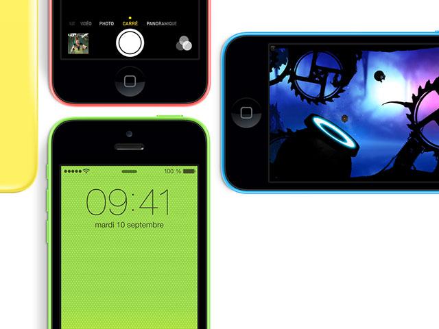 Pré-commander iPhone 5C