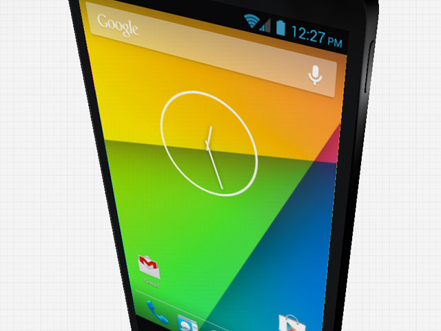 Rendu 3D Nexus 5