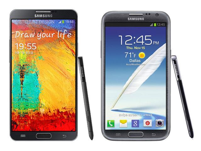 Rendu Samsung Galaxy Note 3 : une seconde image