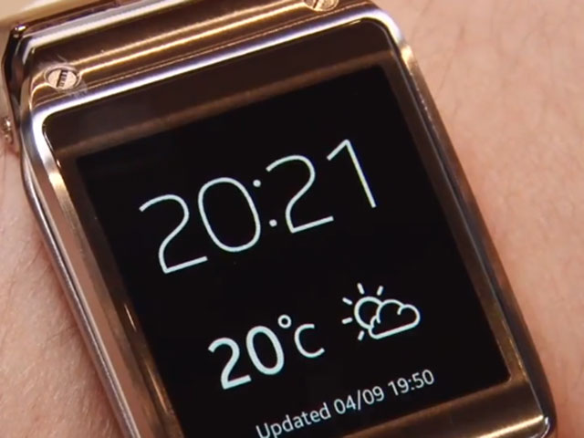 Applications Samsung Galaxy Gear