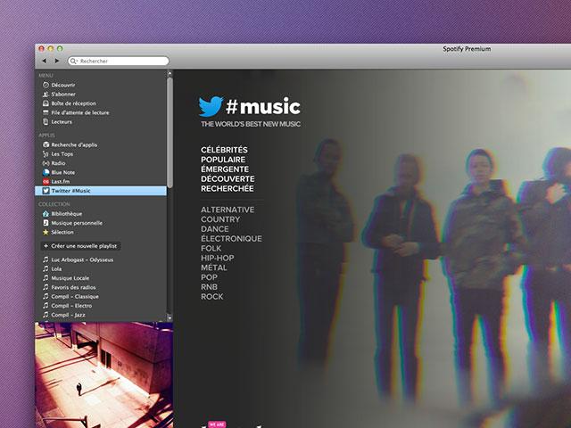 Twitter #Music Spotify