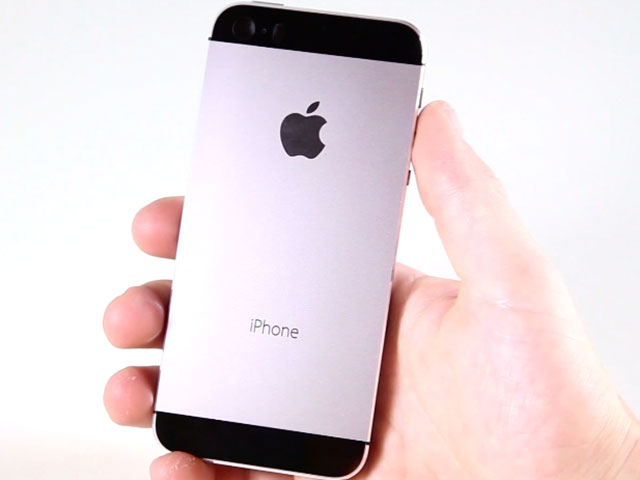 Vidéo iPhone 5S Graphite