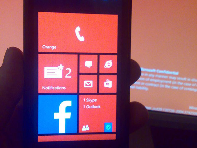 Windows Phone 8.1 : capture 2