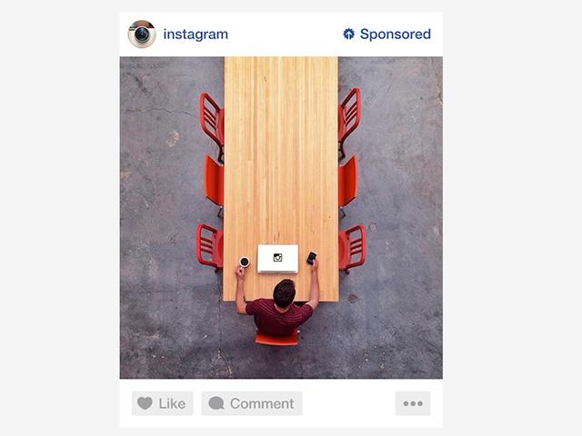 Aperçu pub Instagram
