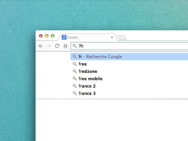 Astuce Chrome Omnibox