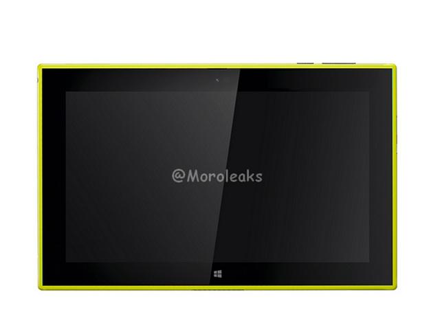 Nokia Lumia 2520 : rendu 3