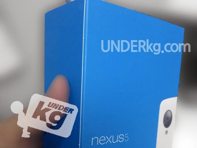 Nexus 5 blanc : image 1