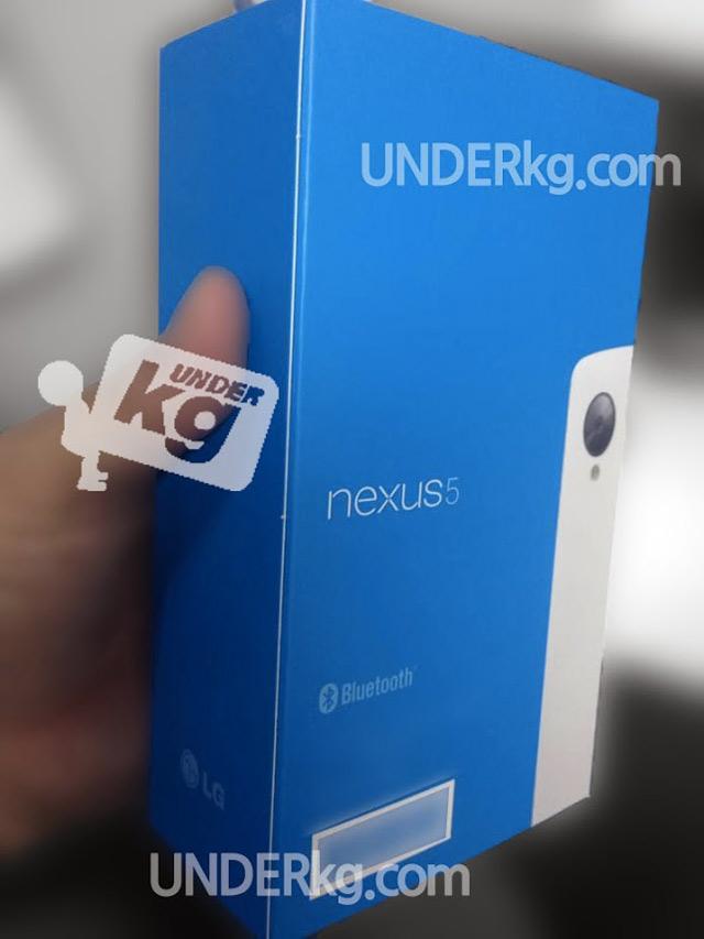 Nexus 5 blanc : image 2