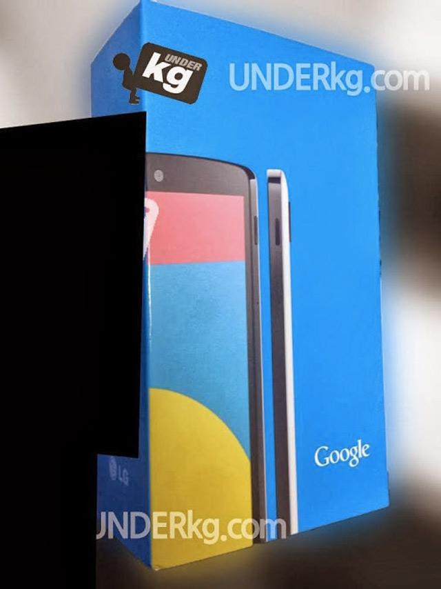 Nexus 5 noir : image 1