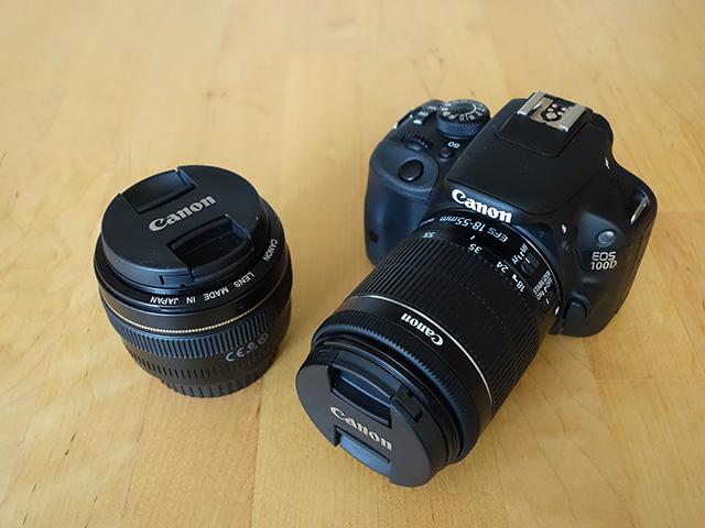Canon EOS 100D : photo 1