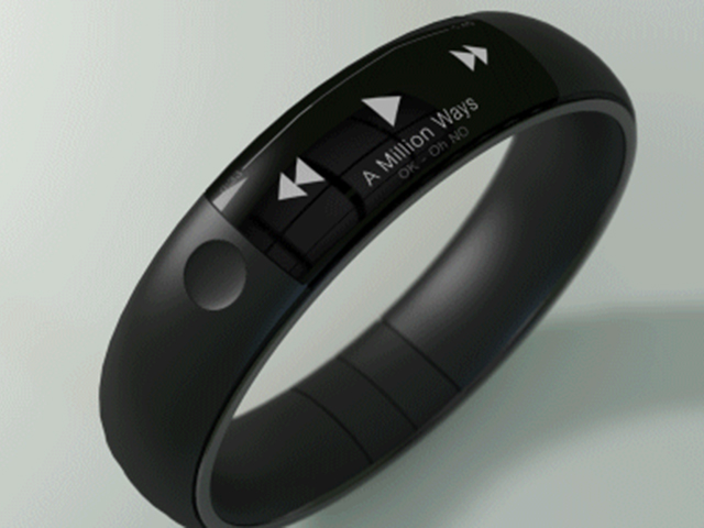Concept iWatch FuelBand