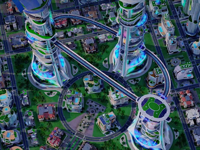 Démo SimCity Cities of Tomorrow