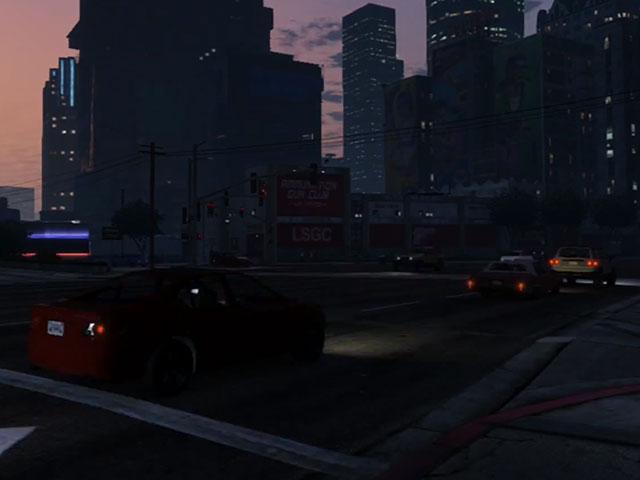 GTA 5 Timelapse