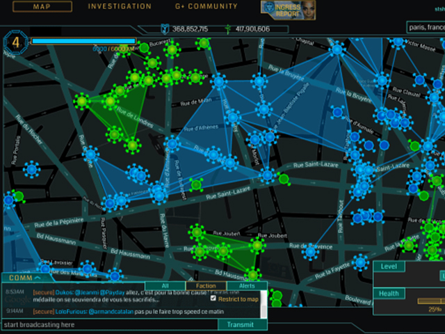 Google Ingress iOS 2014