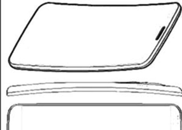 LG G Flex : dessin