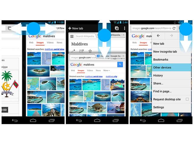 MAJ Chrome Android