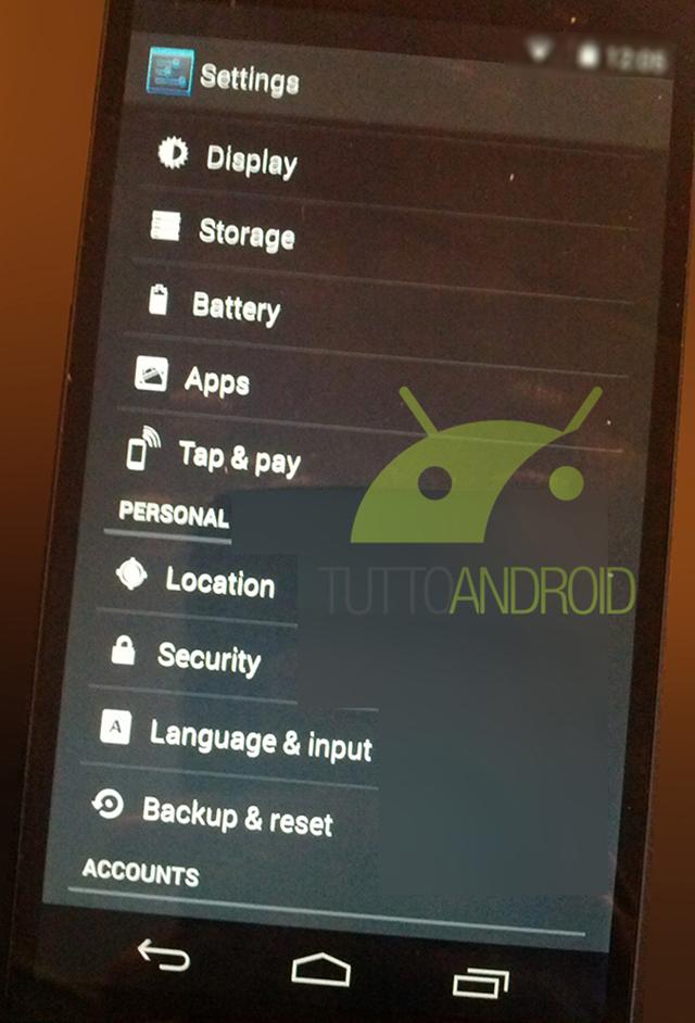 Nexus 5 KitKat 4.4 : image 2