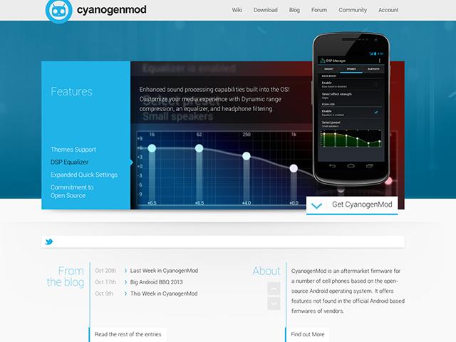 Nouveautés CyanogenMod