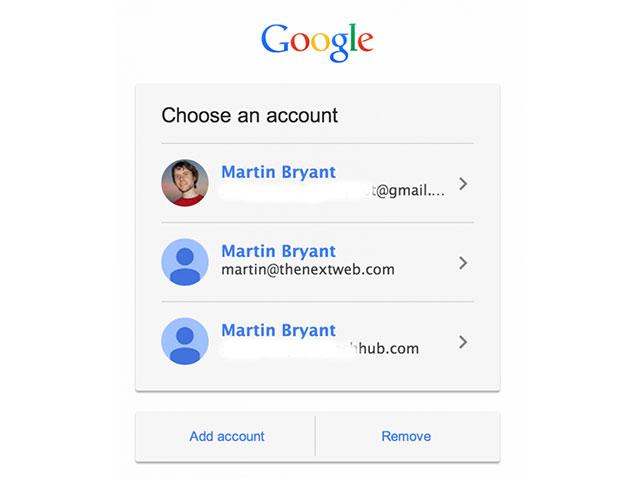 Nouvelle page connexion Gmail : capture 2