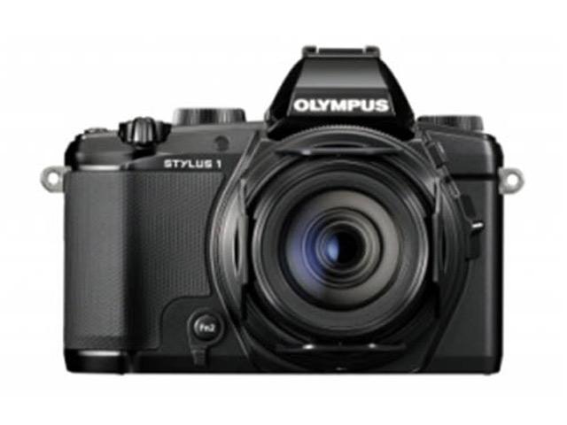 Olympus Stylus 1 : photo de face