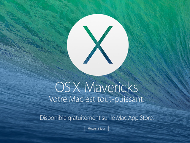Télécharger OS X Mavericks