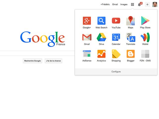 Personnaliser lanceur Google